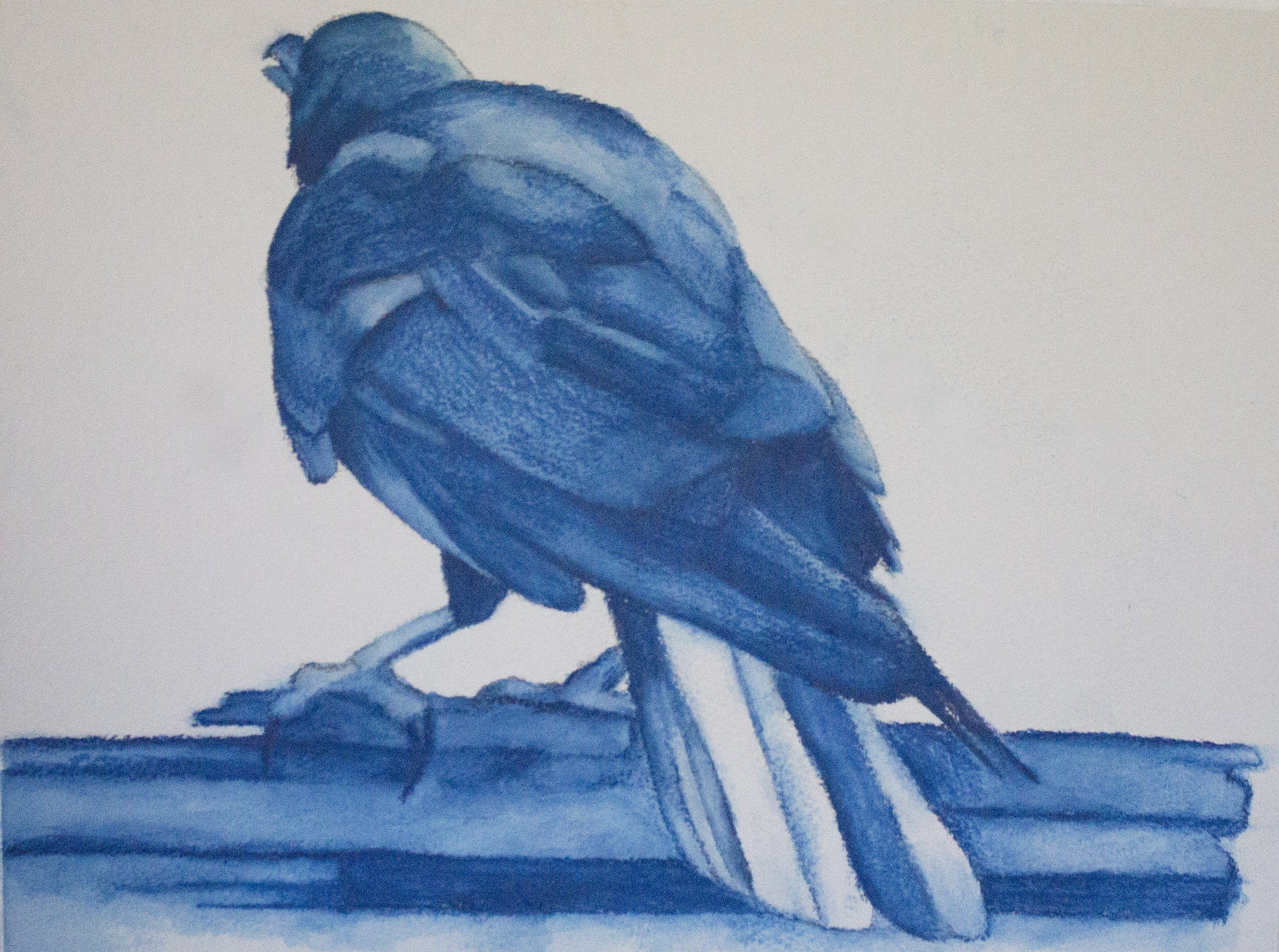 Painting Crows and Plein Air Beginnings
