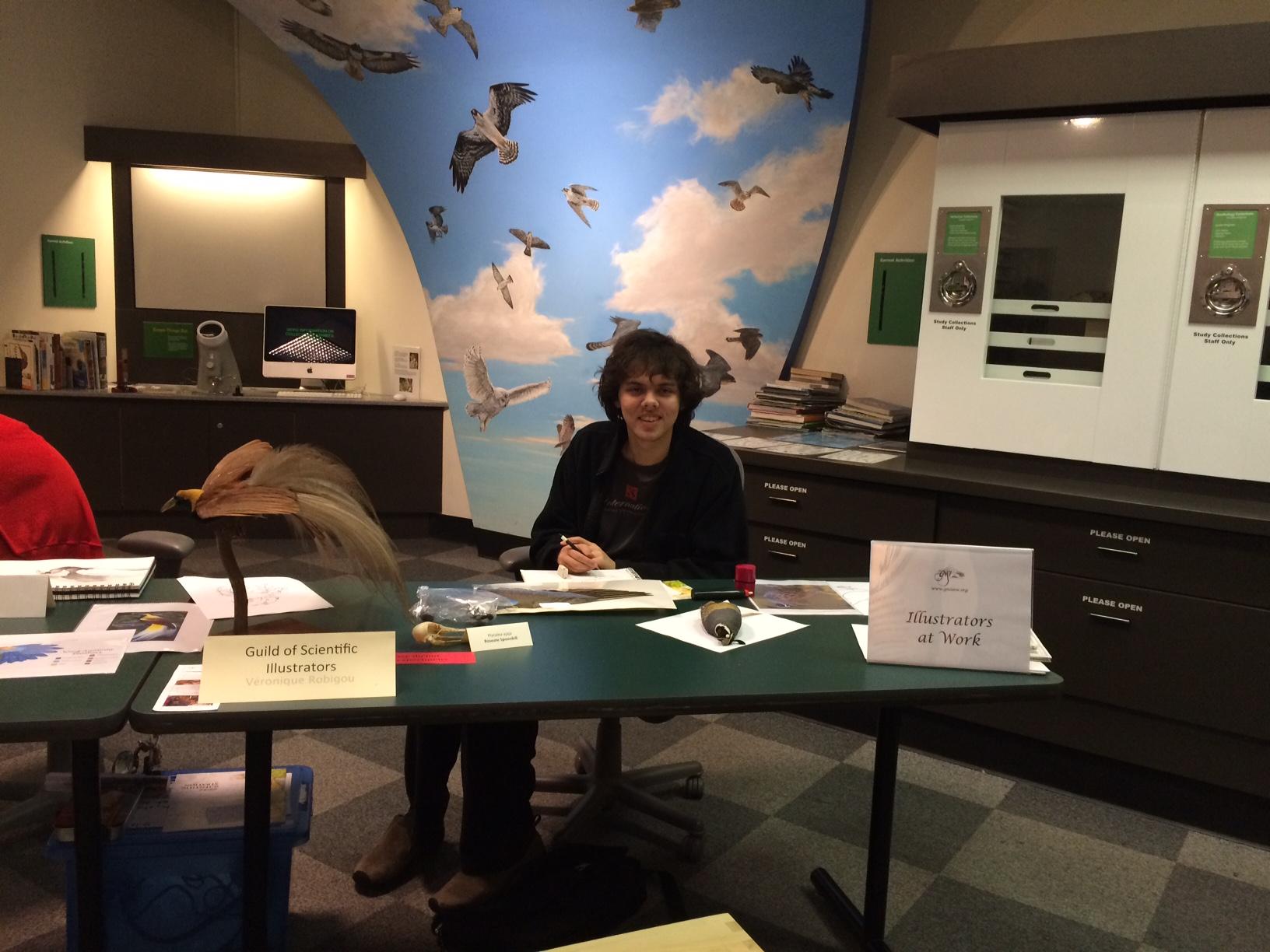 Krister Eide Guild of Natural Science Illustrators Burke Museum