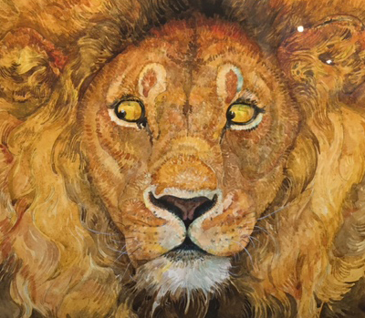 Childrens Illustrator Jerry Pinkney at Michelson Gallery in MA